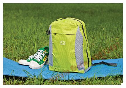 «Рюкзак салатовый (женский) - Backpack Light Green (Women)»