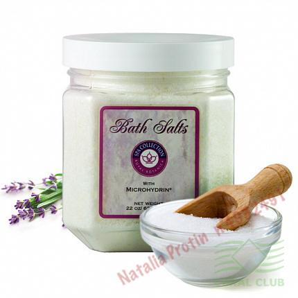 «Соль для ванн с микрогидрином - Bath Salts with Microhydrin»
