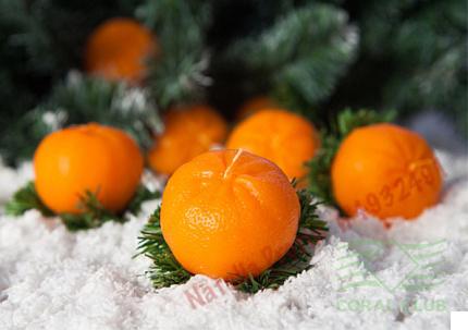 «Свеча мандаринка - Candle Mandarin»