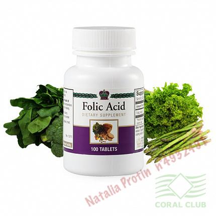«Фолиевая кислота - Folic Acid (321010)»