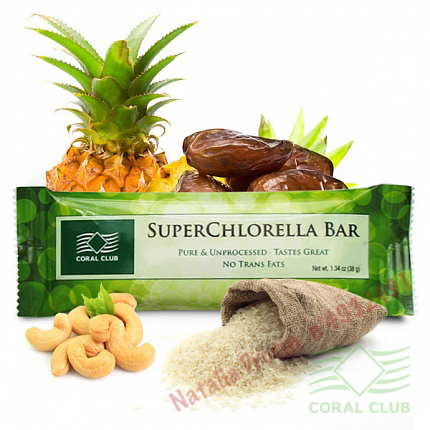 «СуперХлорелла Бар - SuperChlorella Bar»