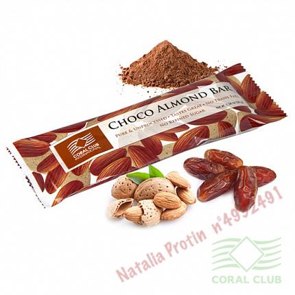 «Шоко с миндалем - Choko Almonds Bar (91684)»